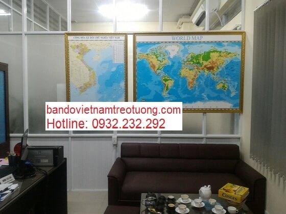 in bản đồ Việt Nam Tiếng Anh cỡ lớn ở đâu