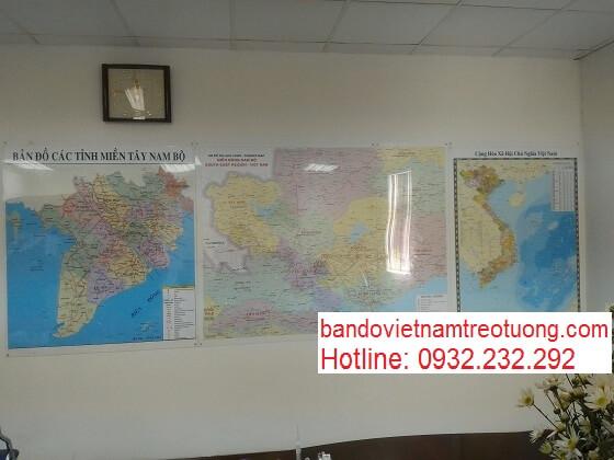 mua bản đồ Việt Nam Tiếng Anh khổ lớn ở đâu