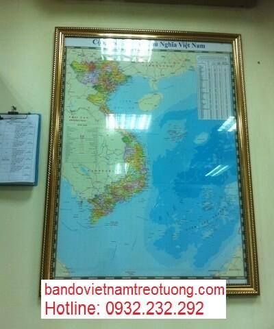 Mua bản đồ du lịch việt nam ở đâu