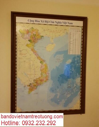 Mua bản đồ việt nam tại hà nội