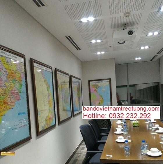 Mua bản đồ Việt Nam Tiếng Trung khổ lớn ở đâu