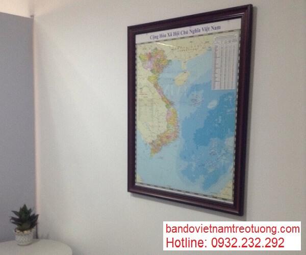 in bản đồ việt nam tại đà nẵng