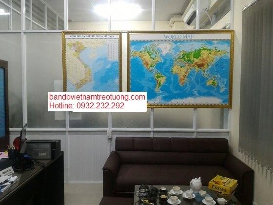 Bán bản đồ Việt Nam đẹp giá rẻ