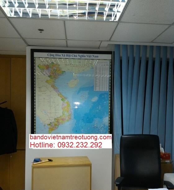 Chuyên bán bản đồ Việt Nam Thế Giới