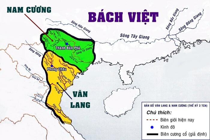 Bản đồ văn hóa thời sơ khai tỉnh miền Bắc