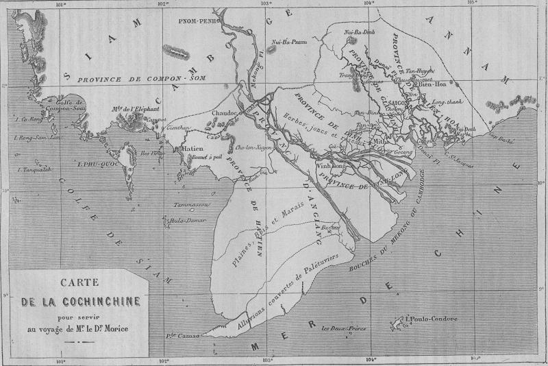 Nghiên cứu bản đồ Việt Nam thời kỳ pháp thuộc chi tiết nhất