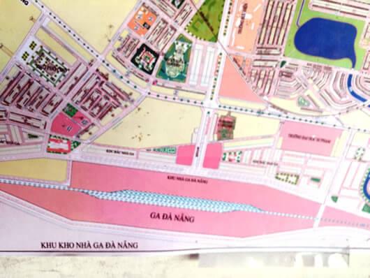 Săn tìm bản đồ quy hoạch ga đường sắt mới đà nẵng