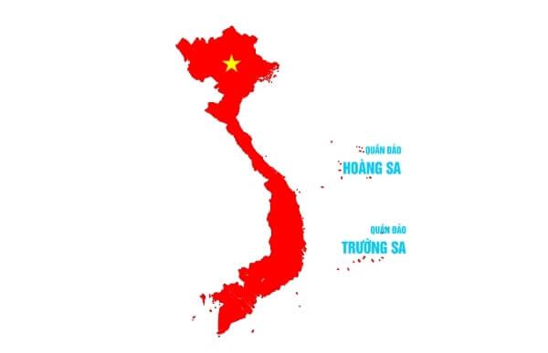 Làm sao để mua được bản đồ Việt Nam đơn giản