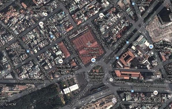 Cách xem bản đồ qua vệ tinh rõ nhất