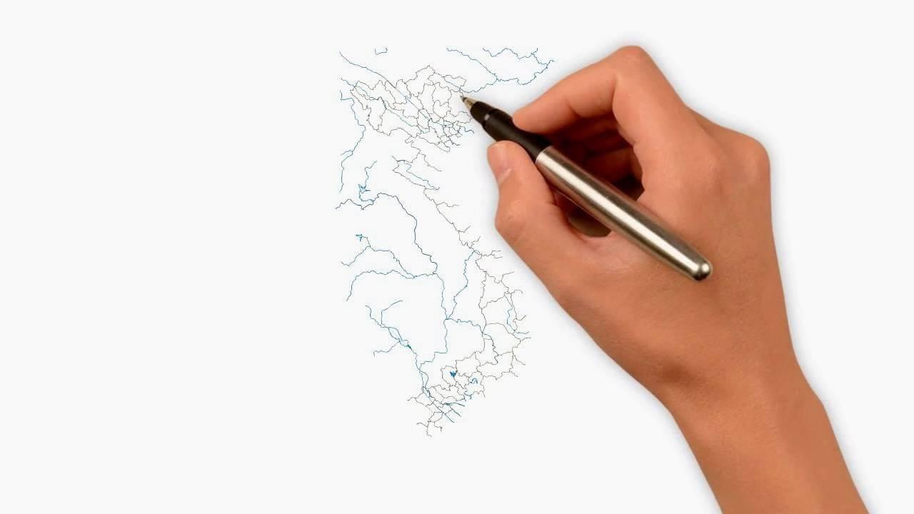Thực hành cách vẽ bản đồ Việt Nam đơn giản nhất