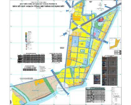 bản đồ quy hoạch phương 16 quận 8