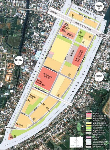 bản đồ quy hoạch phường 15 quận 8