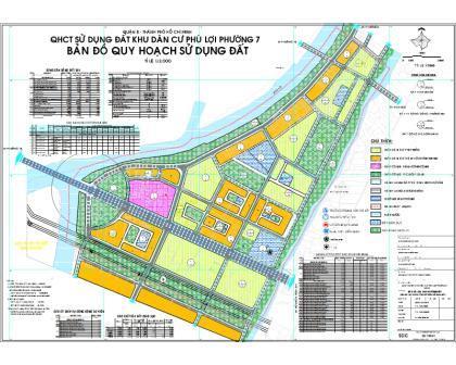 bản đồ quy hoạch phường 7 quận 8