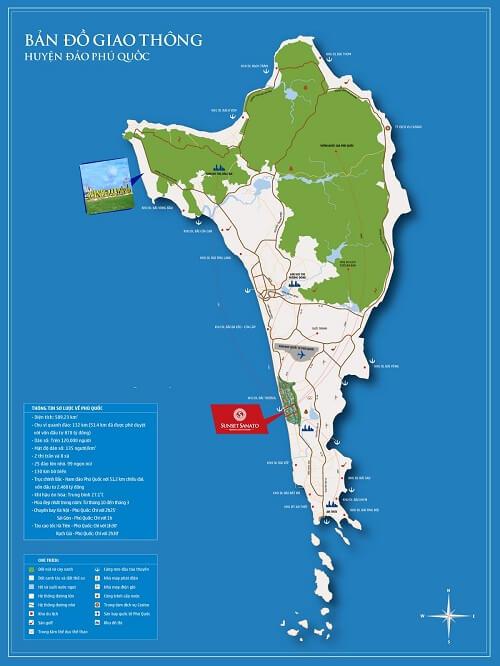 bản đồ hành chính đảo phú quốc