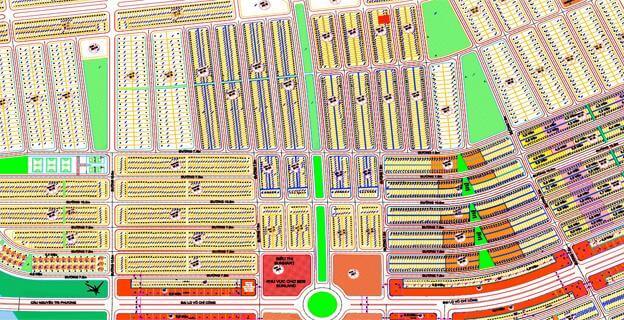 Bản đồ dự án Nam cầu Nguyễn Tri Phương