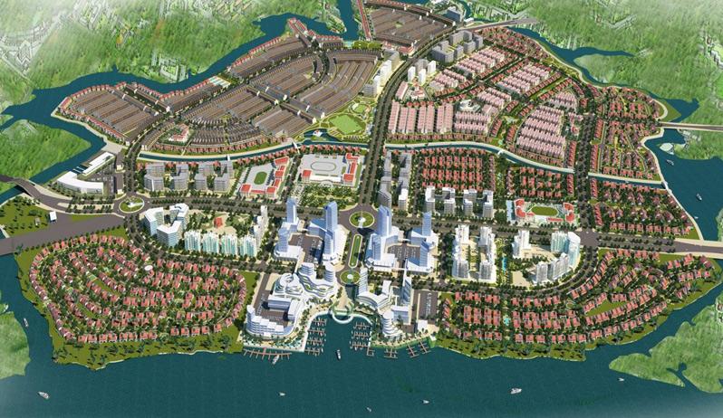 Bản đồ quy hoạch thành phố biên hòa