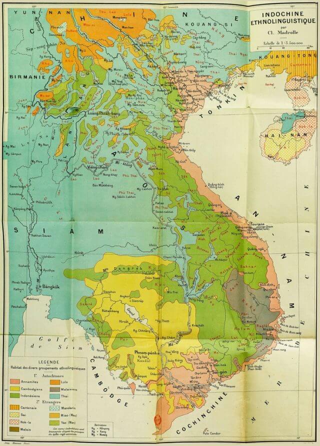Mua bán bản đồ Đông Dương