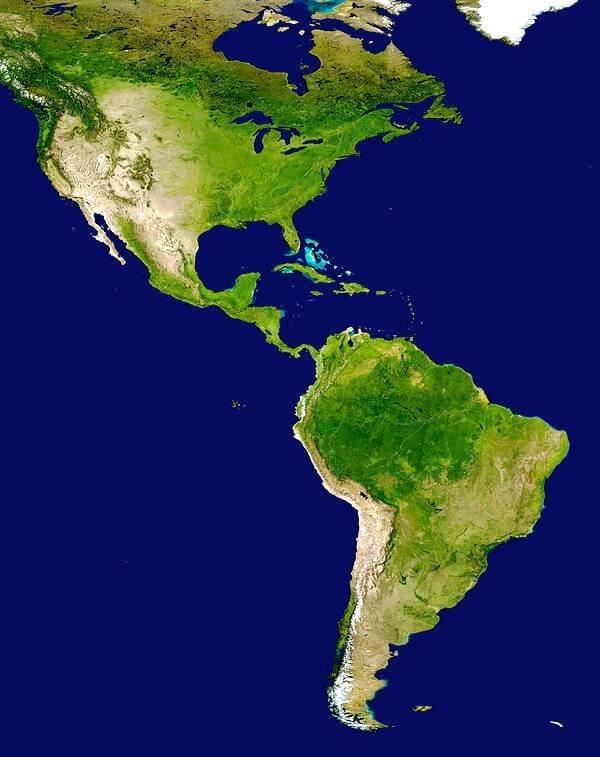 Mua bán bản đồ Châu Mỹ