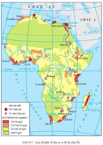 Mua bán bản đồ Châu Phi