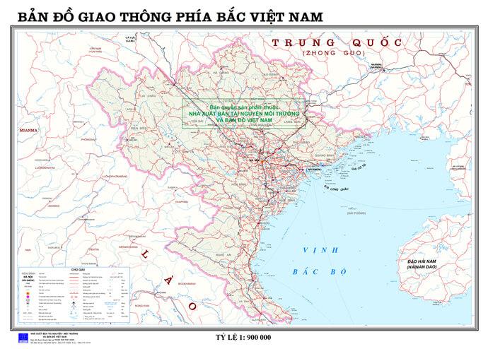 bản đồ giao thông đường vộ Việt Nam