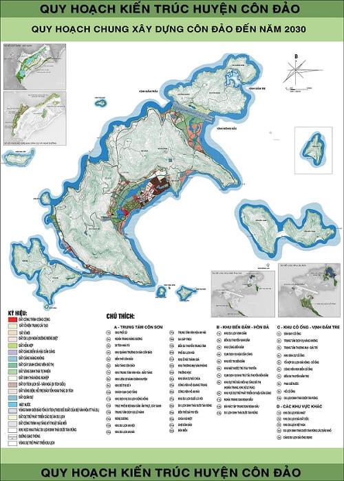bản đồ quy hoạch côn đảo