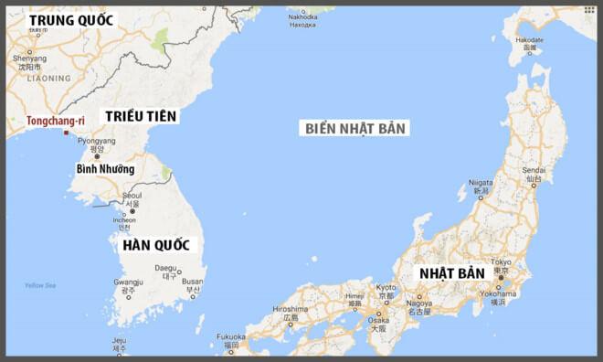 Bản đồ Triều Tiên Hàn Quốc
