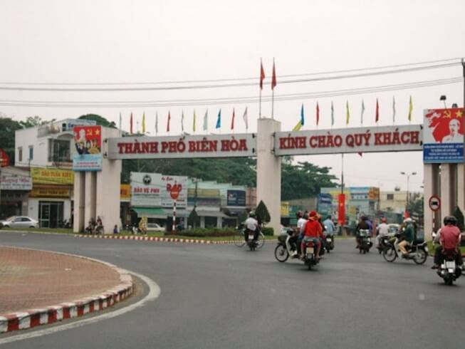 cổng chào tp biên hòa