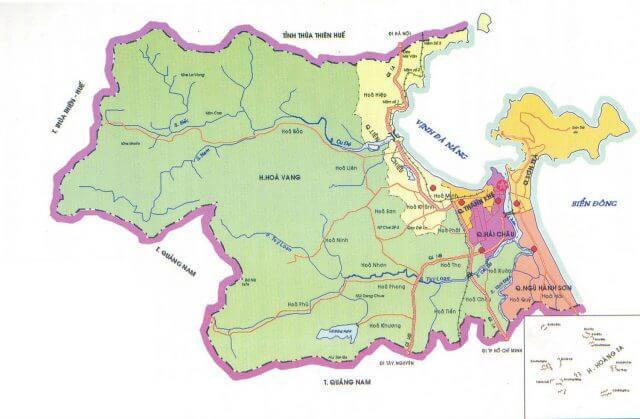 Mua bán bản đồ Đà Nẵng