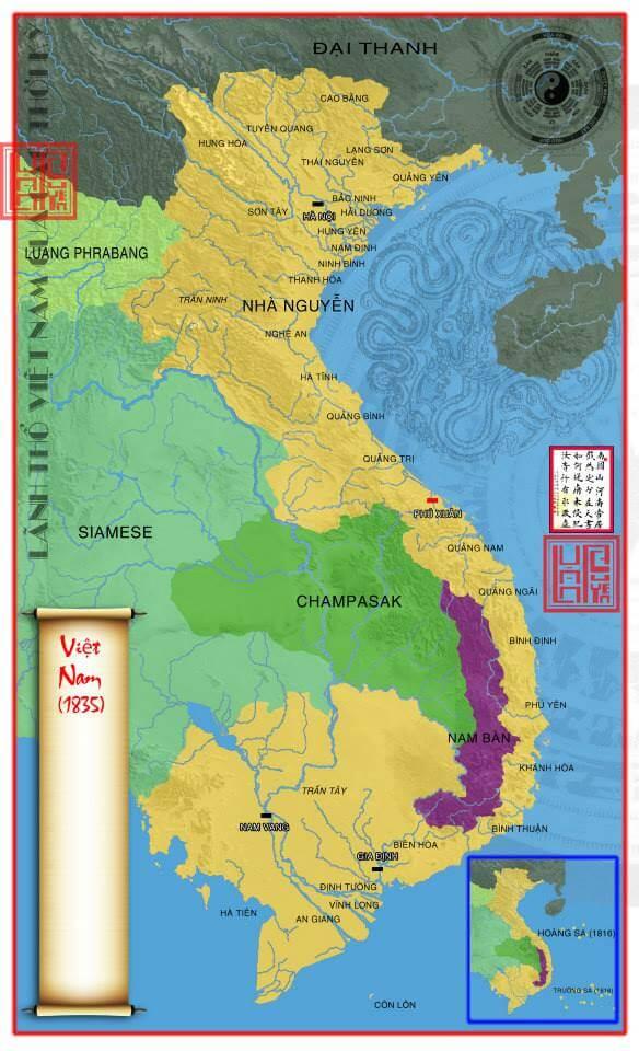 45 bản đồ Việt Nam qua các thời kỳ