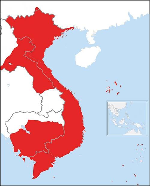 Bản đồ nước Việt Nam qua các thời kỳ