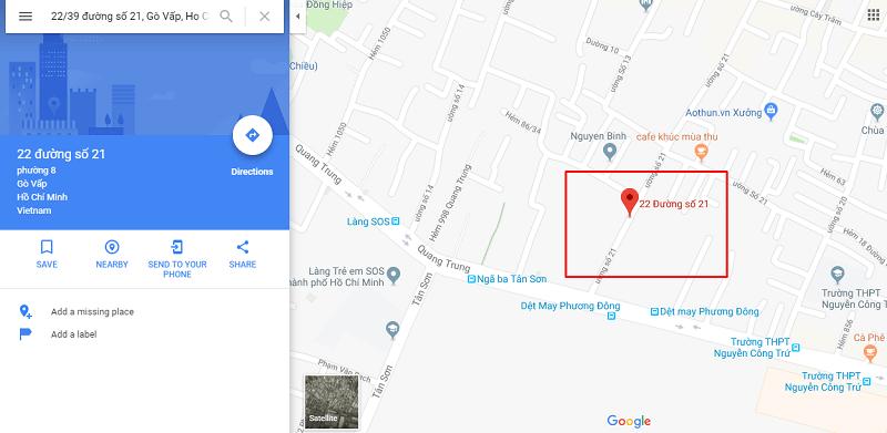 Cách copy bản đồ trên google map vào word nhanh nhất - #1 Mua bán