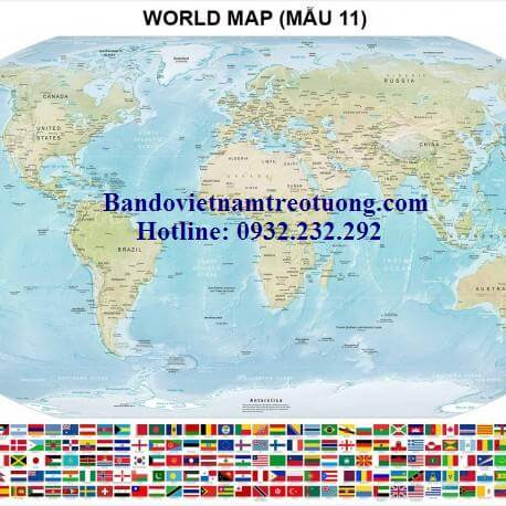 Mua bản đồ thế giới cỡ lớn ở đâu