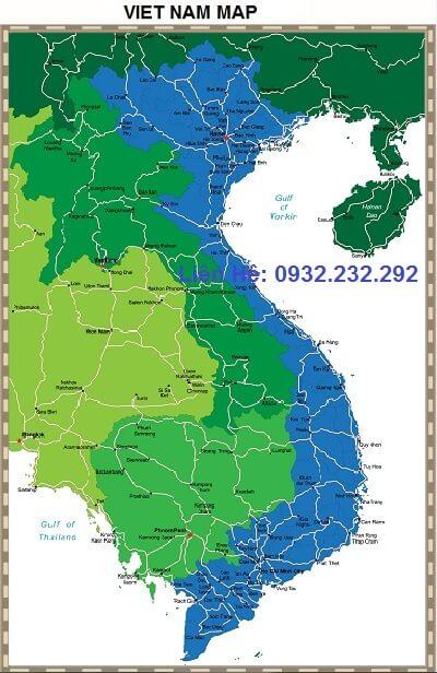 Địa điểm bán bản đồ Việt Nam