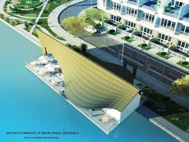 Dự án đang được triển khai tại xã Nhơn Đức.