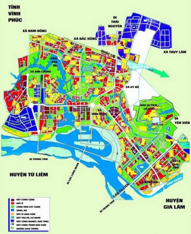 Bản đồ quy hoạch huyện đất đỏ