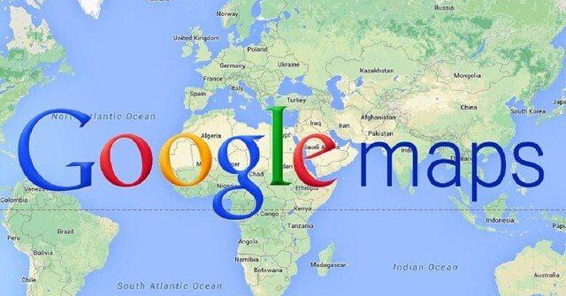 Bán bản đồ thế giới Google Map