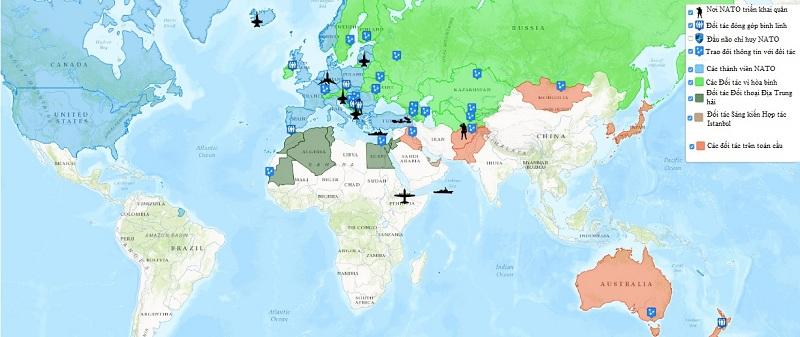 Bản đồ quân sự thế giới