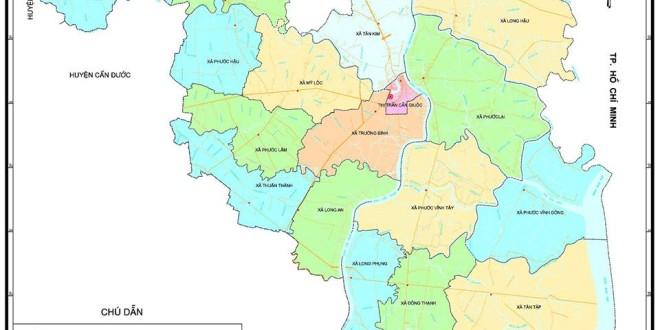 Làm sao để chọn đơn vị bán bản đồ hành chính huyện Đức Hòa chất lượng?