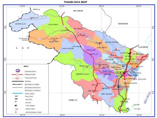 Bản đồ quận Thanh Xuân