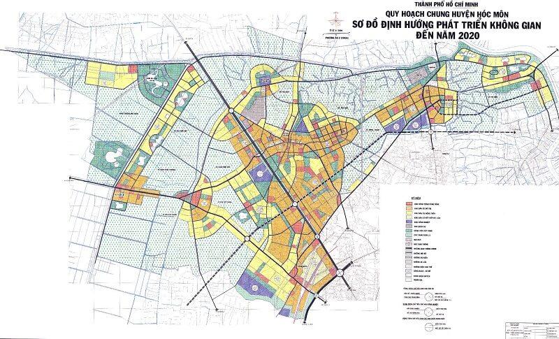 Vì sao bản đồ quy hoạch huyện Hooc Môn đến năm 2020 lại thu hút đến vậy?