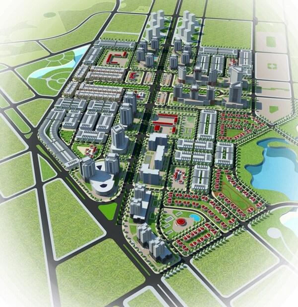 Bản đồ quy hoạch khu tái định cư phường 10 thành phố Vũng Tàu.