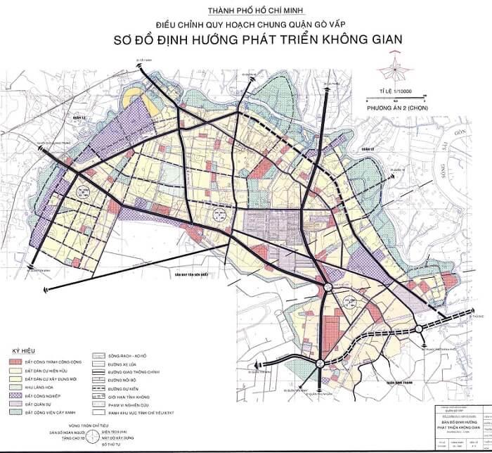 Bản đồ quy hoạch phường 15 quận Gò Vấp.