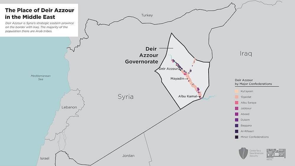 """Bản đồ IS chiếm đóng năm 2017 cho thấy sự """"tàn tạ"""" của IS thời gian qua"""