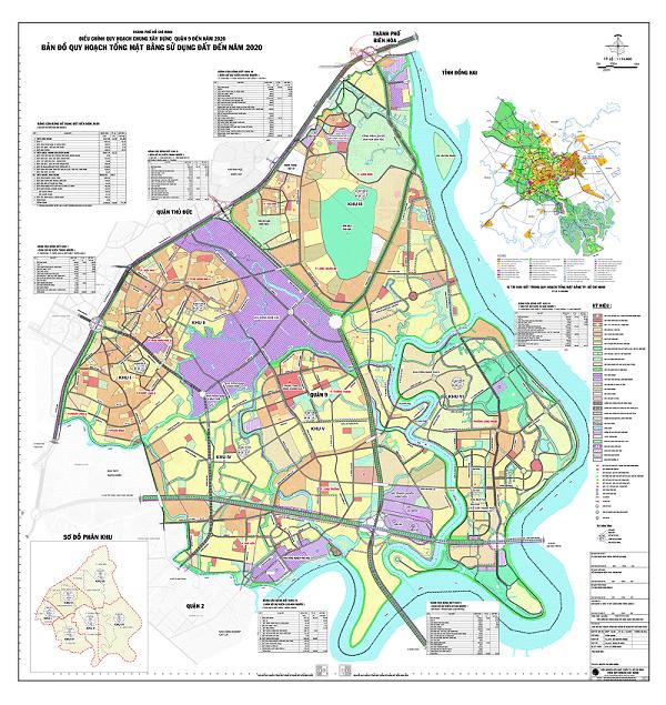 Bản đồ quy hoạch chung quận 9