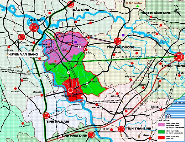 Quy hoạch chung huyện Văn Giang đến năm 2030.