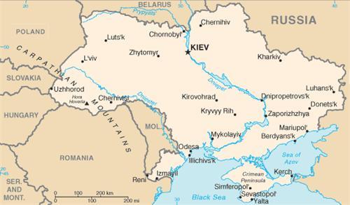 Kinh nghiệm mua bản đồ hành chính Ukraina