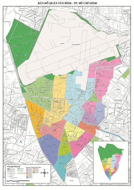 Bản Đồ Quận Tân Bình TP Hồ Chí Minh