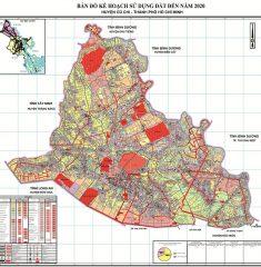 Bản Đồ Quy Hoạch Huyện Củ Chi TPHCM