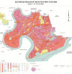 Bản Đồ Quy Hoạch Quận 2 TP Hồ Chí Minh