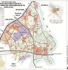 Bản đồ quy hoạch chung quận 9 TPHCM